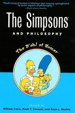 The Simpsons and Philosophy: The D'oh! of Homer (Popular Culture and-ExLibrary