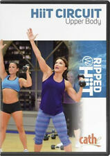EXERCISE DVD - Cathe Friedrich RIPPED WITH HIIT CIRCUIT UPPER BODY - New Release