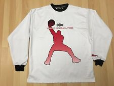 Long Sleeve Basketball Shirt by Zero Casualties, size Large.