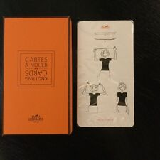 HERMES CARTES A NOUER NEW SEALED KNOTTING CARDS - WAYS TO WEAR YOUR SCARF
