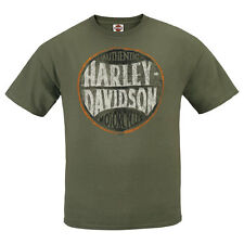 "ORIG. HARLEY-Davidson Dealer Camicia ""Circle AUTHENTIC"" T-SHIRT * R 0007976 * Taglia XL"