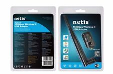 Netis WF-2119S 150Mbps Wireless-N USB Wireless Adapter w/5dBi Antenna-NEW SEAL