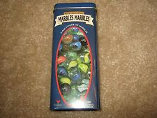 Kids Collection Marbles Metal Container – 100 Colorful Marbles - Cardinal #164