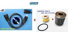 LPG/CNG LOVATO EASY FAST & SMART : INTERFACE USB+ KIT FILTERS RGJ-3 & RGJ-3 HP