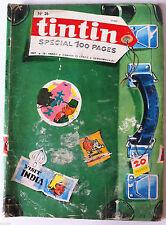b)TINTIN du 27/06/1967 - Spécial 100 pages/ Le vol à Voile