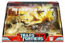 Transformer Movie Screen Battle DESERT ATTACK scorpinok robot figure toy set