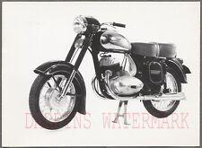 Vintage 1950s Photo Jawa 353 354 Motorcycle 701041