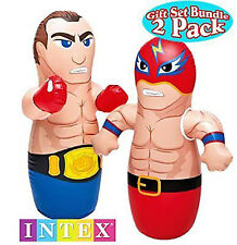 Intex 3D Bop Bag - Inflatable Blow Up Punching Bag Toys,Gift,For Kids Fun