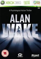Alan Wake Xbox 360 * NEW SEALED PAL *