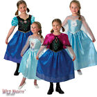 Fancy Dress Costume ~ Girls Disney Princess Frozen Anna & Elsa Outfits