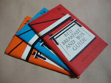 The Ramblers' Association Bed, Breakfast and Bus Guide, 1957, 1959 and 1960, [in