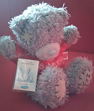 Me to You Grey blue nose bear 'I love you this much' 6 inches Soft Plush Toy *
