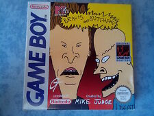 MTV BEAVIS AND BUTT-HEAD NINTENDO GAME BOY, COLOR, ADVANCE GBA GBC PAL COMPLETO