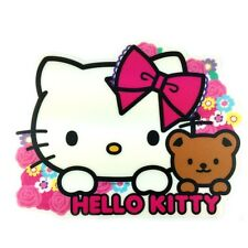 Sanrio Hello Kitty Computer Mouse Pad : Floral Hello Kitty with Teddy Bear