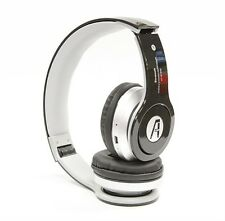 Wireless Bluetooth Stereo Headset with Mic, Mp3 Player with Card - Black