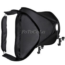 "24"" 60cm portable foldable hot shoe softbox tent for flash speedlite 580EX 430EX"