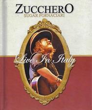 2 Dvd + 2 CD Box Cofanetto ♥ ZUCCHERO ♥ SUGAR FORNACIARI ♥ LIVE IN ITALY ~ nuovo