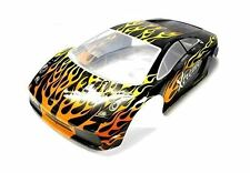 10110 1/10 SCALE DRIFT TOURING CAR BODY COVER SHELL RC BLACK LAMBOGHINI
