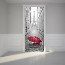 The Eiffel Tower Wall Decal Gray Door Graphic Unique Fathead-Style Sticker