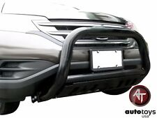 ATU 2007-2016 Honda CRV CR-V Black Bull Bar Brush Bumper Guard