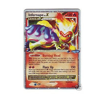 INFERNAPE LV.X LVX DP10  Ultra Rare EX Holo Foil Pokemon Card
