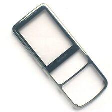100% Nokia 6700 clásico delantero fascia carcasa+pantalla lente cristal Cromo