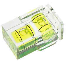 Polaroid Hot Shoe Two Axis Double Bubble Spirit Level For Sony Alpha