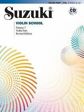 Suzuki Violin School: Suzuki Violin School, Vol 7 : Violin Part, Book and CD...