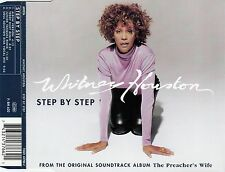 WHITNEY HOUSTON - STEP BY STEP / 4 TRACK-CD (ARISTA RECORDS 1996)
