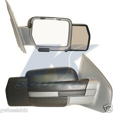 2009-2012 2013 2014 FORD F150 CLIP SNAP-ON TOWING SIDE MIRROR EXTENSION (PAIR)