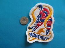VINTAGE 70-71 MONTREAL CANADIENS NATIONAL HOCKEY LEAGUE PATCH CREST EMBLEM NHL