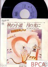 """MEGA RARE NEW 7"""" JAPAN PROMO ISABELLE AUBRET LES CHEMINS DE L'AUTOMNE FRENCH POP"""