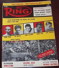 The Ring Magazine October 1956  Hall of Fame issue Collectable