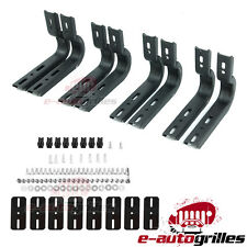 Running Board Bracket only+Hardware Mounting Kit For 04-08 Ford F-150 F150