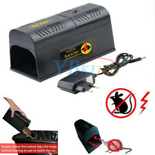 Electronic Rat Mouse Rodent Killer Zapper Trap Poison Free Pest Control Home NEW