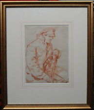 WILLIAM ROTHENSTIEN WINSTON CHURCHILL PORTRAIT BRITISH ART PAINTING ex SOTHEBY