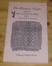 The Heirloom Knitter Presents Heavenly Cotton Face Cloths Vol.2 Barbara Scoville