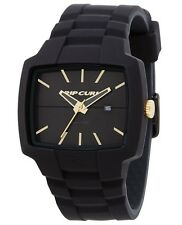 Rip-Curl TOUR XL A2749 Black / Black Rubber Analog Quartz Men's Watch