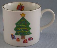 Save The Children The Christmas Tree Coffee Cup Mug Brain-Age 10 Drum Presents