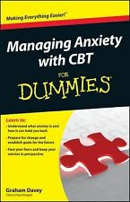 Managing Anxiety with CBT For Dummies by Graham C. Davey (Paperback)