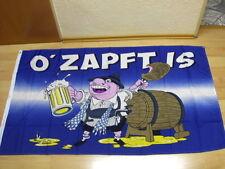 Fahnen Flagge Oktoberfest Ozapft Is - 90 x 150 cm