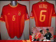 Spain Espana Hierro Shirt Jersey Football Soccer Adidas Adult XL Real Madrid 02