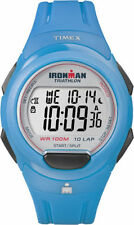 "Timex T5K781 Women's ""Ironman Triathlon"" 10-Lap Resin Watch, Alarm, T5K7819J"
