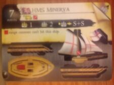 Pirates Fire & Steel #009 HMS Minerva Pocketmodel CSG