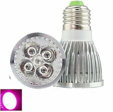 Mini Full Spectrum 5x3W E27 Led Grow Light Bulb High Brightness Gow Lamp