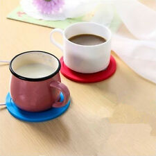 5V USB Silicone Heat Warmer Heater Tea Coffee Mug Hot Drinks Beverage Cup ITBU
