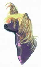 Embroidered Fleece Jacket - Chinese Crested BT3075  Sizes S - XXL
