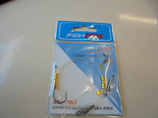 fishzone 1 hook flapper rig size 1/0.