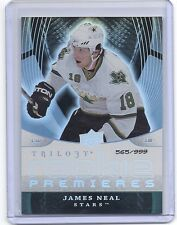 08-09 2008-09 TRILOGY JAMES NEAL ROOKIE RC /999 127 DALLAS STARS