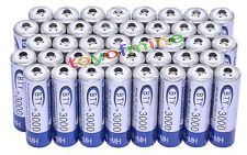 40x AA 3000mAh 1,2 V batterie Ni-MH rechargeable BTY cellule pour MP3 Jouets RC